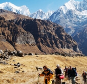 The Annapurna Sanctuary