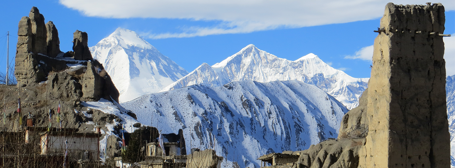 ANCIENT CULTURE AMID ICY PEAKS